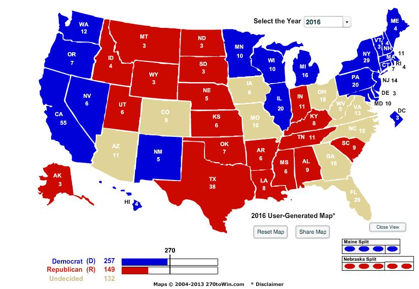 2016electionPresidentialmap